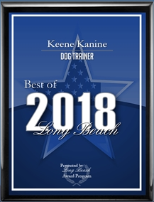 2018 Best of Long Beach Award for Keene Kanine